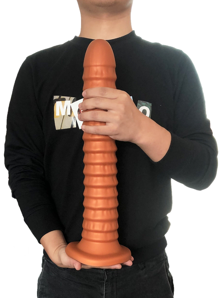 Super Soft Silicone Big Dildo Butt Plug Prostate Massager Huge Screw Vagina Anal Dildo With Suction Cup Adult Sex Toys For Women