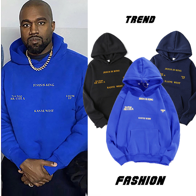 Jesus Is Koning Kanye West sweatshirts Hoodies 1