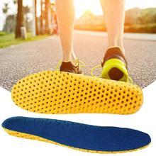 Viscoelastic Foam Orthopedic Insoles Breathable Orthopedic Unisex Soles For Shoe J8D4