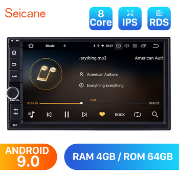 Seicane Android 9.0 Universal 7 inch Car Radio Navigation GPS Multimedia Player for NISSAN TOYOTA KIA VW Honda Mirror Link