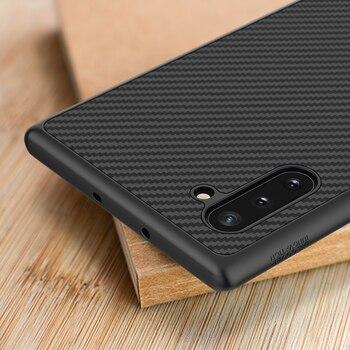 Чехол NILLKIN для samsung Note 10 Plus, чехол для samsung Note 10, чехол из углеродного синтетического волокна, задняя крышка для Galaxy Note 10 + Note10 5G