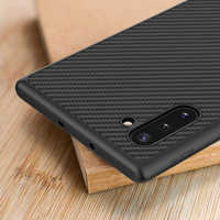 NILLKIN pour Samsung Note 10 Plus étui sfor Samsung Note 10 étui en Fiber de carbone synthétique couverture arrière pour Galaxy Note 10 + Note10 5G