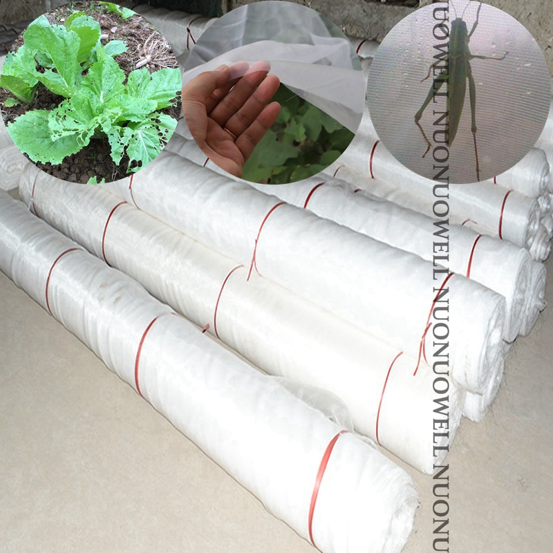 Width:4m 100m/Bundle  Greenhouse Pest Control Net Fruit Vegetable Protection Care Cover Garden Net Anti Insect Nets