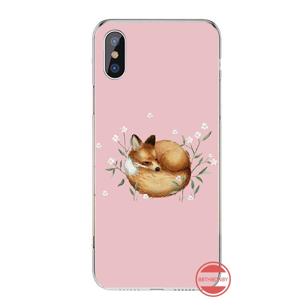 アニメおかしい foxs 素敵なかわいいカバー黒ソフトシェル電話ケースのための iphone 4 4s 5 5s 5c se 6 6s 7 8 プラス x xs xr 11 プロマックス