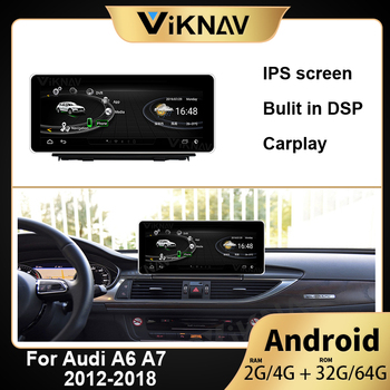 Android Car Multimedia Player For-AUDI A6 A7 2012 2013 2014 2015 2016 2017 2018 Car GPS Navigation Radio Payler Head Unit image