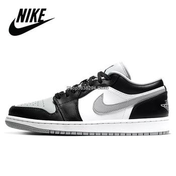 Фото - Nike Air Jordan 1 Travis Scott Low Retro Original OG Low Aj1 Men Basketball Shoes Outdoor Sport Women Sneakers #AJL88 кроссовки air jordan 11 retro low