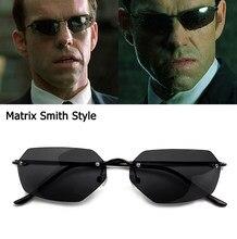 Jackjad vintage clássico a matriz agente smith estilo polarizado óculos de sol homem legal rebites design da marca óculos de sol