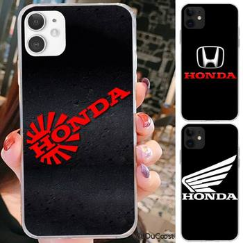Riccu Car brand Honda luxury Phone Case For iPhone 7 8 Plus X XS Max XR Coque Case For iphone 5s SE 2020 6 6s 11Pro 12 image