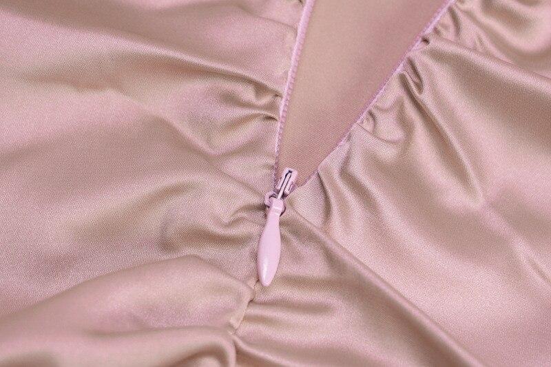 mini satin dress08