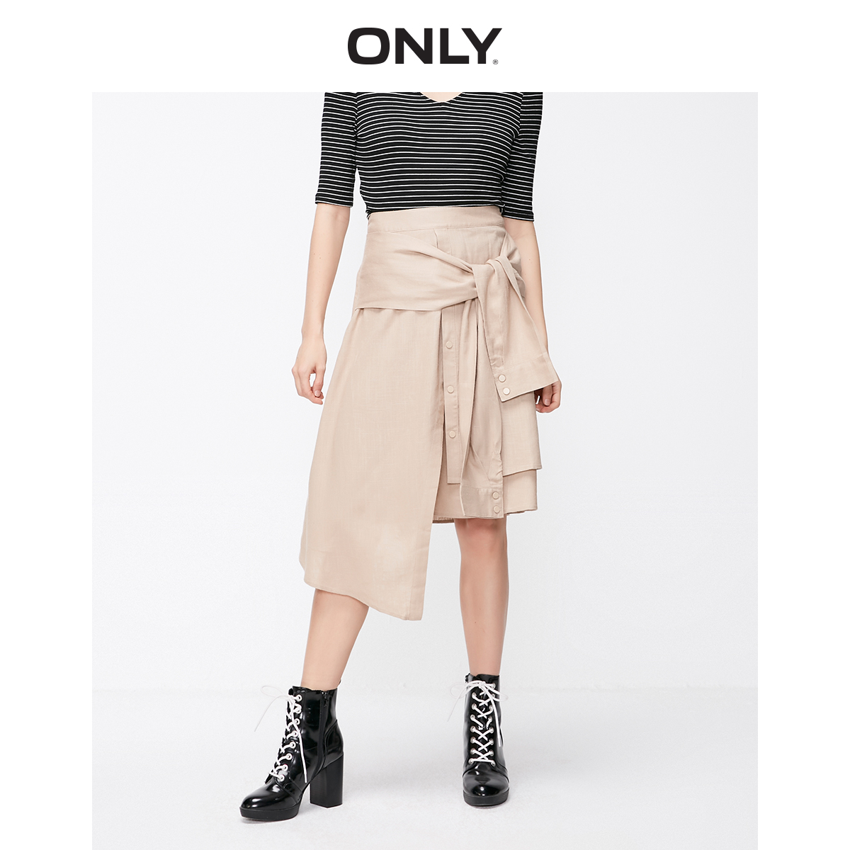ONLY Women's Asymmetrical Skirt | 119116514