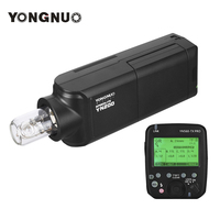 YONGNUO YN200 Portable TTL HSS Flash Speedlite 200W GN60 High Speed 5600K with YN560 TX PRO Flash Trigger for Nikon DSLR Cameras