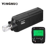 YONGNUO YN200 przenośny TTL flash hss Speedlite 200W GN60 wysokiej prędkości 5600K z YN560 TX PRO wyzwalacz lampy błyskowej dla Nikon lustrzanki cyfrowe w Lampy błyskowe od Elektronika użytkowa na