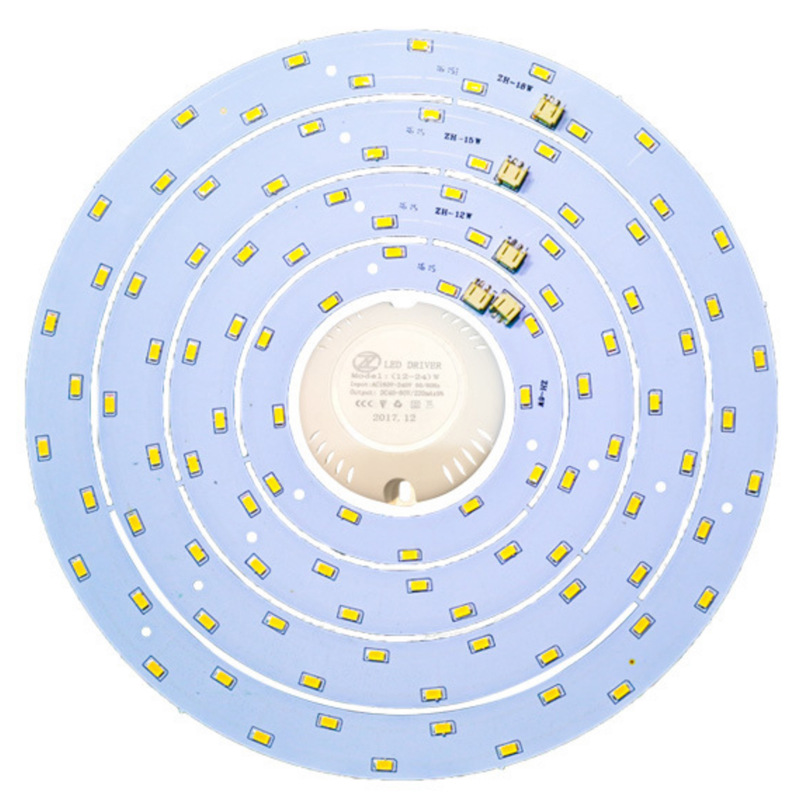 6W 12W 15W 18W 27W 33W 36W 80W 100W LED Ring PANEL Circle Light 220V SMD 5730 LED Round Ceiling Board The Circular Lamp Board