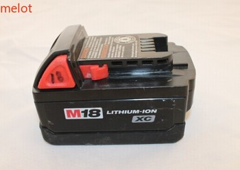 The original Milwaukee M18 XC meters swatches electric tools 18V 2.6A lithium battery (used products)