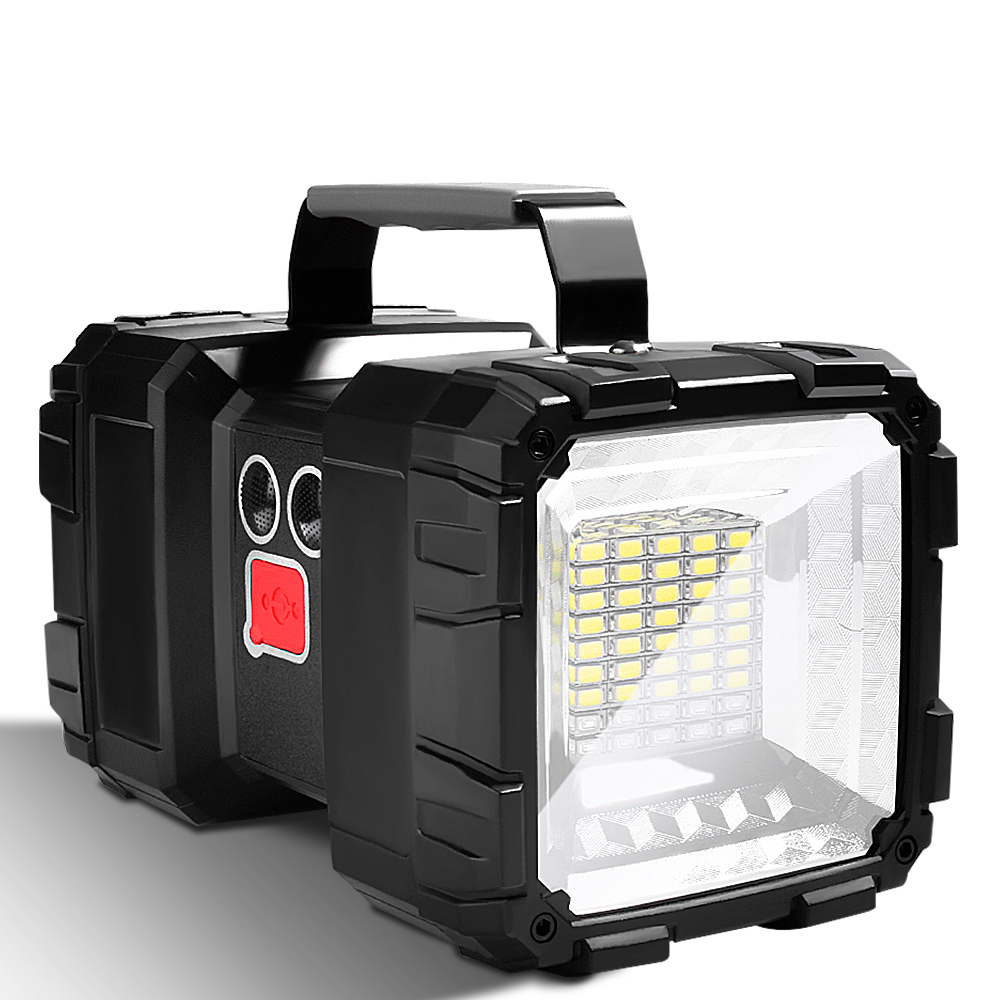 Camping Lantern for Fishing USB Rechargeable LED Powerful Flashlight 7 Lighting Mode Outdoor Work Portable Emergency Searchlight