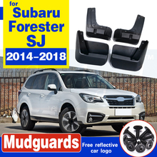 For Subaru Forester SJ 2014 - 2018 Molded Car Mud Flaps Mudflaps Splash Guards Flap Mudguards Fender Front Rear 2015 2016 2017 molded car mud flaps for toyota corolla altis 2014 2015 2016 2017 mudflaps splash guards mud flap front rear mudguards fender