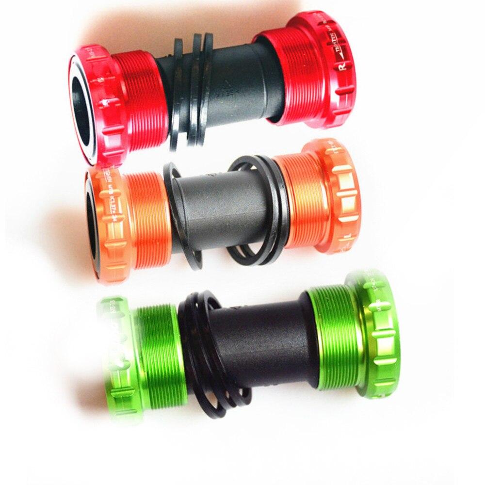 ELYON велосипедной каретки Алюминий Водонепроницаемый BSA 68/73 мм винт/Нитки Тип диаметра окружности болтов (подшипники велосипеды Axis Запчасти для Shimano|Каретки|   | АлиЭкспресс