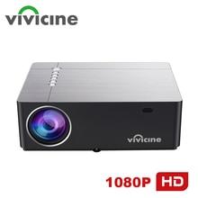 Vivicine 2020 M20 أحدث 1080p جهاز عرض مسرحي منزلي, الخيار أندرويد 9.0 1920x1080 إضاءة ليد كاملة الوضوح الوسائط المتعددة فيديو Proyector متعاطي المخدرات
