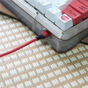 Image 5 - USB Metropolis спиральный кабель солнцезащитные очки авиаторы разъем Mechables Тип c свертываясь спиралью кабель клавиатуры для механической клавиатуры