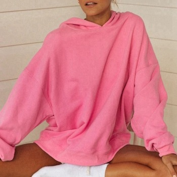 Laamei Women Hoodies Sweatshirts Winter Autumn 2020 Oversized Ladies Pullovers Warm Hooded Jacket Vintage