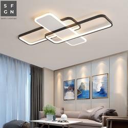 Lampa sufitowa led home nowoczesny żyrandol oświetlenie sufitowe kryty do salonu sypialnia badania jadalnia