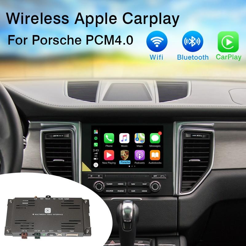Yeesite Wifi Wireless Carplay For Porsche PCM4.0 Android Auto/Mirroring iOS Apple Car Play 2007-2011 911 Panamera Macan