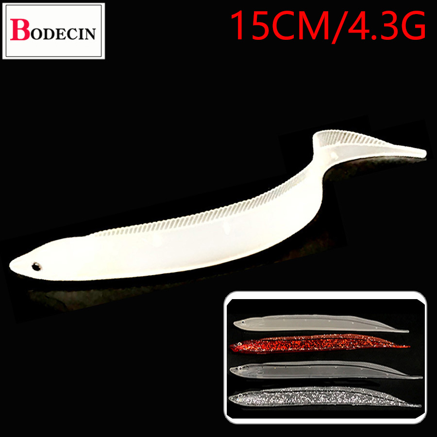 Knife Blade Fish Swimbait Eel <font><b>Soft</b></font>/Artificial/Silicone/<font><b>Big</b></font> <font><b>Bait</b></font> For Fishing Baubles/Lure/Tackle/Wobbler Sea Trout/Trolling Lures image
