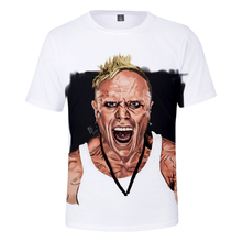Kpop 3D T shirt Summer Hot Sale Print Band lead singer Keith