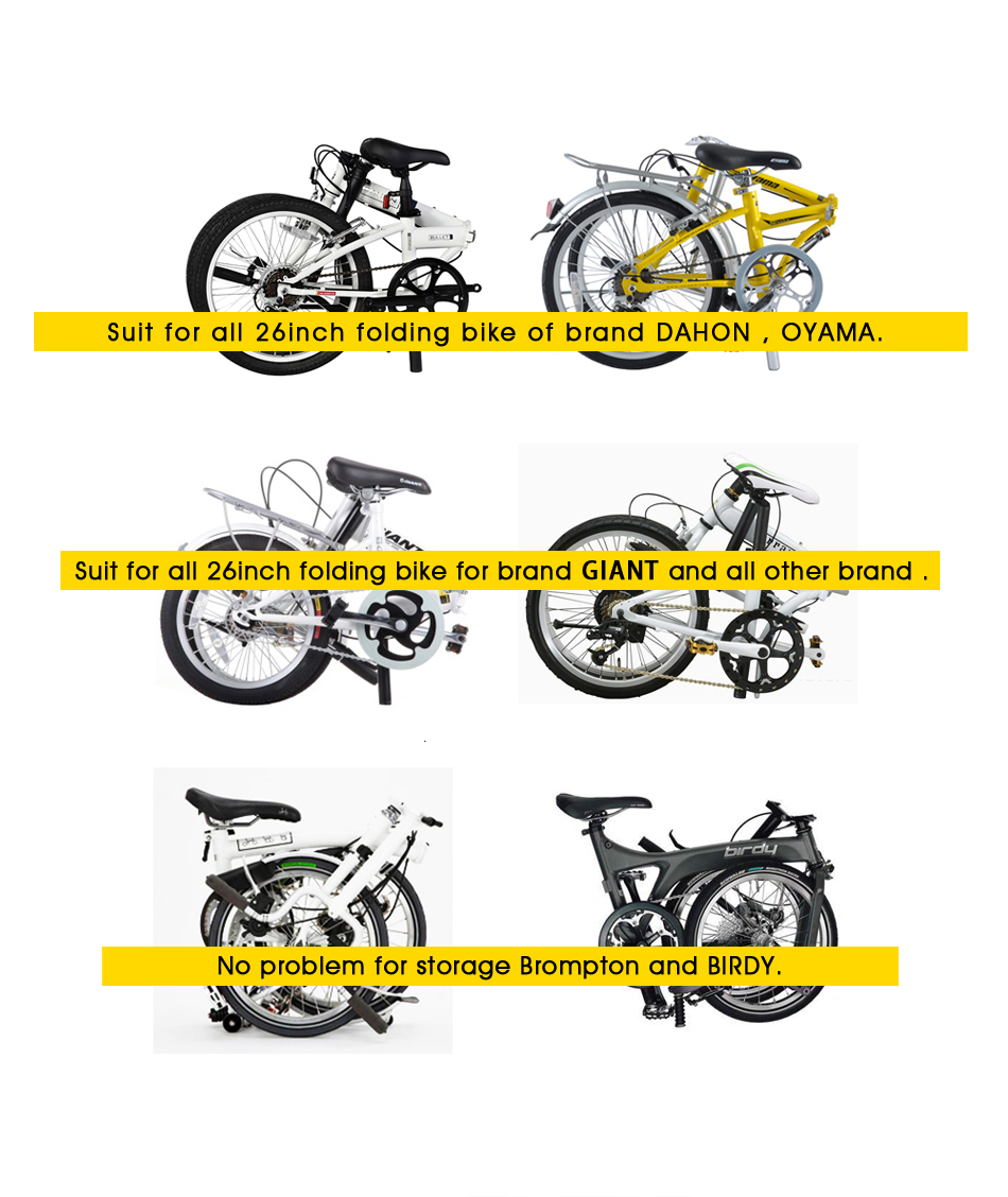Flash Deal Rhinowalk 14 inch 20 inch Folding Bike Bag Loading Vehicle Carrying Bag Pouch Packed Car Thickened Portable Bicycle Pack 31