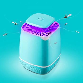 USB Electric Bug Zapper Mosquito Killer Lamp LED Photocatalysis Mute No Radiation Fly Insect Anti Mosquitos Trap Repellent Light