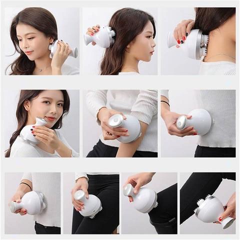 a prova dwaterproof agua eletrica cabeca massagem