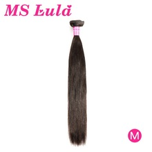 Brazilian Hair Weave Bundles Straight Hair MS Lula Remy Natural Color PrePlucked 30 Inch Bundles Human Hair Extensions For Women