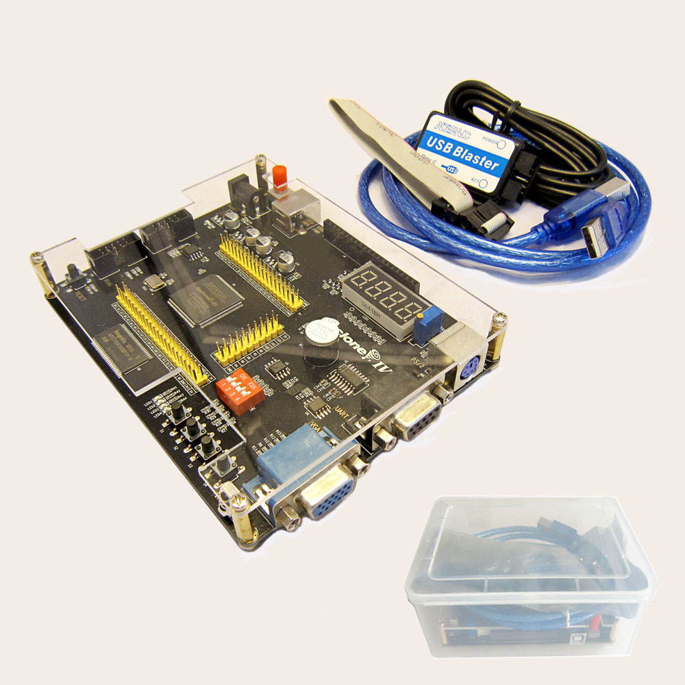 Kit portátil de desarrollo de bolsillo ALTERA Cyclone IV EP4CE6 EP4CE10 Placa de desarrollo FPGA Altera NIOSII FPGA + Blaster USB