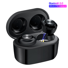 TWS True Wireless Earbuds Shocking 4D Stereo Bluetooth 5.0 Active Noise Canceling Sports Earphones For iPhone xiaomi huawei