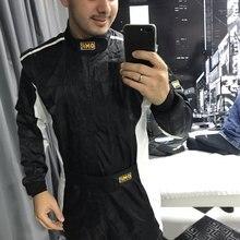 Новое поступление Автомобильный гоночный костюм практическое обслуживание для мужчин и женщин go kart drift гоночный костюм Размер: XS-4XL