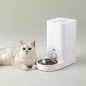Image 1 - Xiaomi PETKIT mangeoire pour chat intelligent bol automatique mangeoire pour chat de compagnie jamais coincé mangeoire distributeur de nourriture pour animaux frais Cibo Gatto