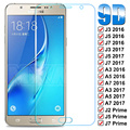 9D полное покрытие Защитное стекло для Samsung Galaxy J3 J5 J7 A3 A5 A7 2016 2017 J2 J5 J7 Prime S7 закаленное защитное стекло для экрана