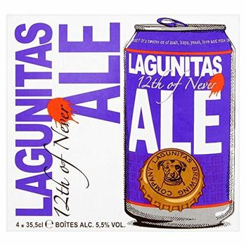 Lagunitas - Cerveza Americana IPA 12th Of Never, 12 x 355 ml