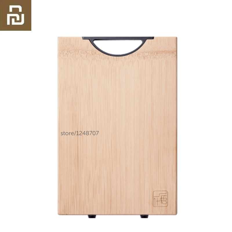 YWYS Chopping Board Bamboo Cutting Board Thickened Antimicrobial kitchen Meat Pad 33*22*1.8cm(China)