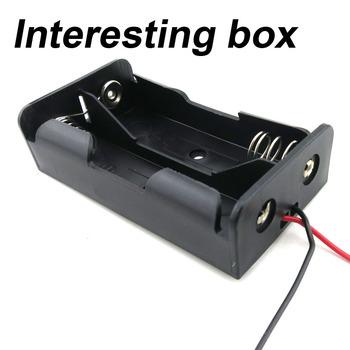 18650 opakowanie na baterie 2 szt Zestaw do samodzielnego lutowania opakowanie na baterie bez lutowania z kablem seria opakowanie na baterie tanie i dobre opinie