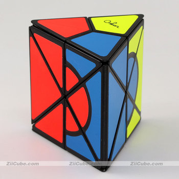 mf8 Magic Cubes Oskar Triangle Cylinder Jumble Prism Cube 5 Five Faces Puzzle Primary Limited Edittion Stickers Maggical Cubo image