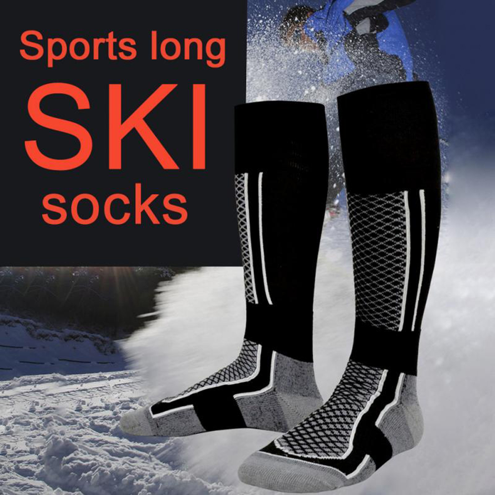 Ski Socks 2019 Thicken Winter Sports Men Women Long Warm Breathable Outdoors Skiing Snowboarding Thermal Socks New