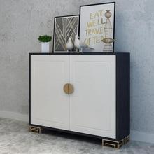 Простые обеденные боковые шкафы, современные модные шкафы для хранения, индивидуальные шкафы, креативные Шкафы для крыльца на заказ, ковшовые шкафы