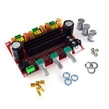 لوحة مضخم الصوت الرقمي TPA3116D2 2.1 ، مضخم الصوت DC 24V 80Wx2 100W R9JB