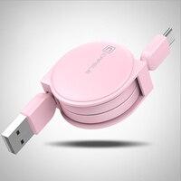 CAFELE – câble rétractable USB Type C pour recharge et données, cordon de chargeur pour téléphone Huawei Honor 10 9 P10 Xiaomi Mi 6 Mi 5s