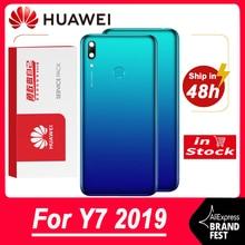 Hohe Qualität Zurück Gehäuse Ersatz Für Huawei Y7 2019 Zurück Abdeckung Batterie Für Huawei Y7 Prime 2019 Hintere Abdeckung