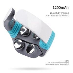 Image 3 - Elektrische puls Akupunktur Neck massager gesundheitsnackenkissen therapie gerät Aufladen patch massage Drahtlose Fernbedienung