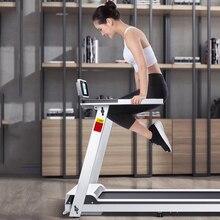 Фабрика электрическая беговая дорожка мониторинг сердечного ритма Упражнение прогулочная машина беговая оборудование для фитнес-тренировок складной домашний Спорт
