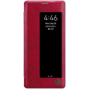Image 3 - Yeni Huawei Mate 30 Pro durumda NILLKIN PU Flip akıllı kılıf için Huawei Mate 30 Pro kapak cüzdan deri uyku fonksiyonu