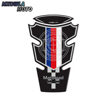 Motorcycle 3D Fuel tank sticker For BMW S1000RR S 1000 RR carbon fibre Resin Decals Protection Tank Cover Pad Cas Cap Sticker kodaskin protection gas fuel tank cap pad sticker red fit for honda vfr800 vfr1200